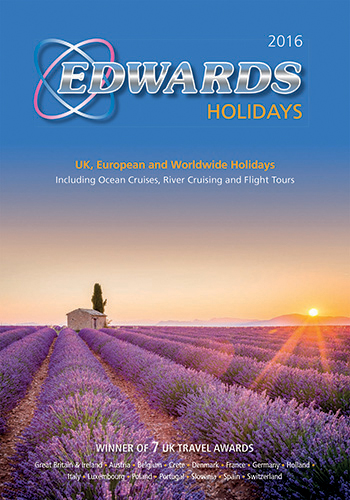 The cover of the Edwards brochure.