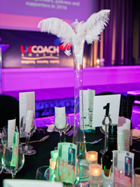 A table setting for the 2016 event