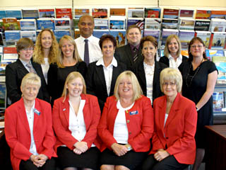 Staff at Woods Travel Group, UK Coach Operator of the Year in 2013. Who will it be in 2014?